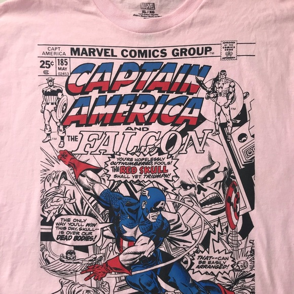 9a625cb16 MARVEL Captain America & The Falcon Super Hero Tee.  M_5c5cabd3aa8770a95bc16171